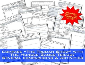 hunger games compare contrast the truman show movie hunger hunger games compare contrast the truman show movie