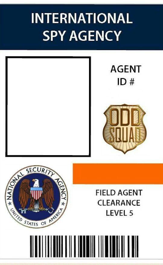 image regarding Odd Squad Badge Printable identify Pin as a result of Alissa Palen upon Unusual Squad Social gathering inside of 2019 Magic formula