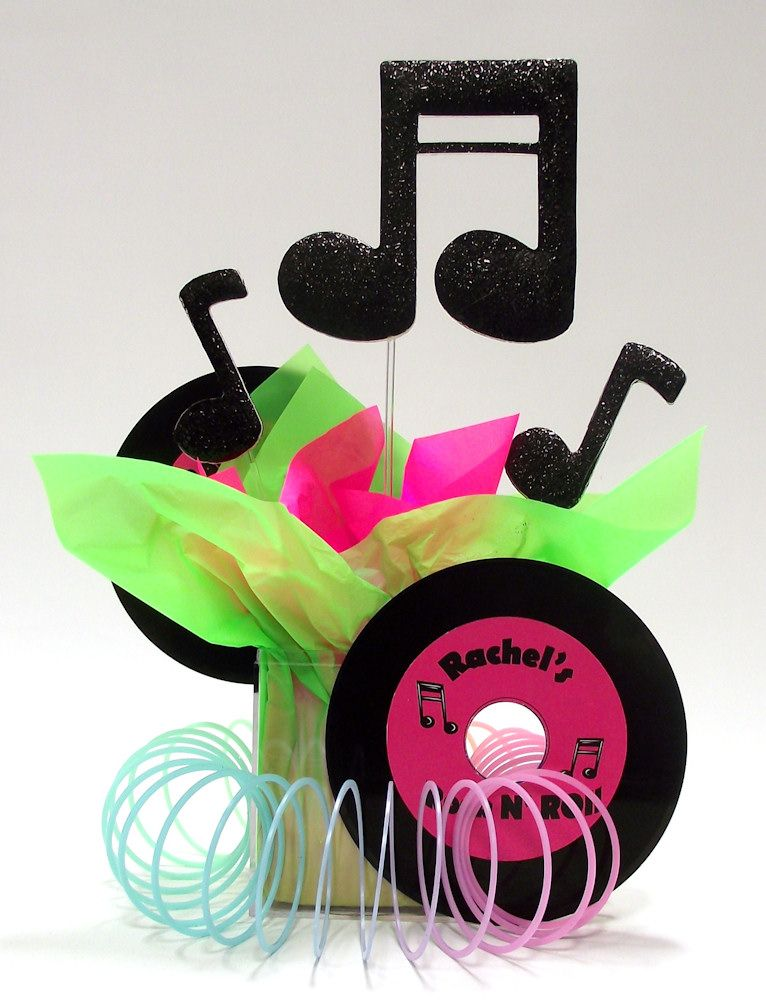 Superieur Rock U0026 Roll Theme Party Centerpiece Ideas | Awesome Events Blog