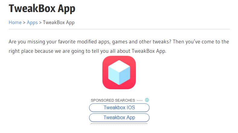 TweakBox App Download ( iOS and Android ) Download app
