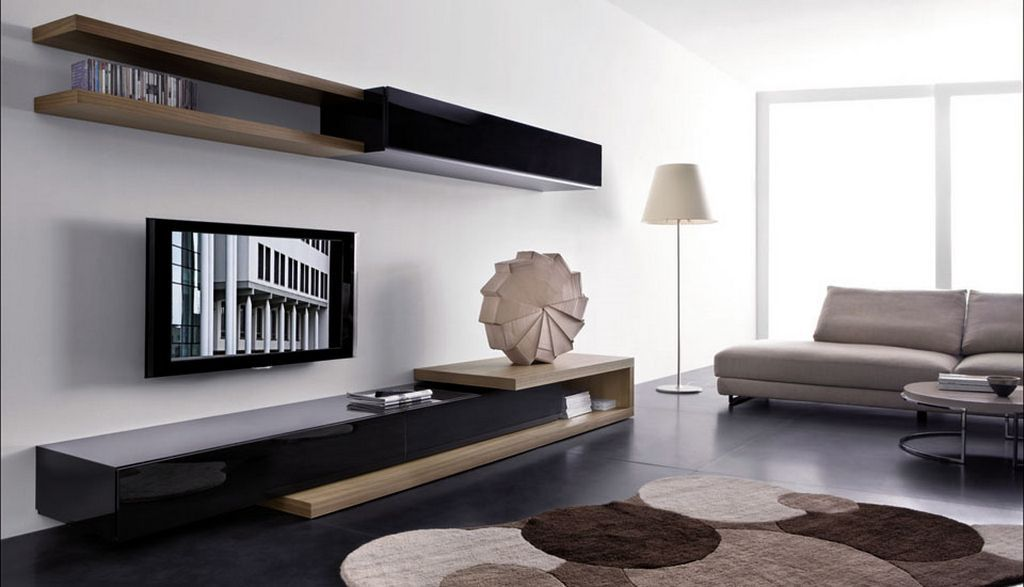 These 15 Modern Tv Wall Units For Your Living Room Are Designed By Famous Interior Companies A Modern Living Room Wall Modern Living Room Modern Tv Wall Units