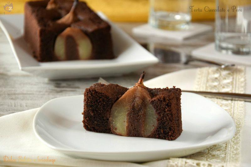 Torta Cioccolato e Pere è il non plus ultra dei dolci che ogni goloso desidera