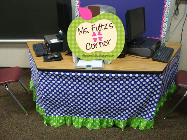 How To Make Table Skirts For Your Classroom!