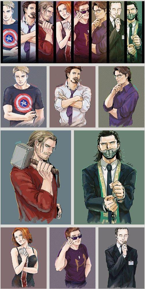 Marvel, Avengers, Captain America, Iron Man, Bruce Banner, Thor