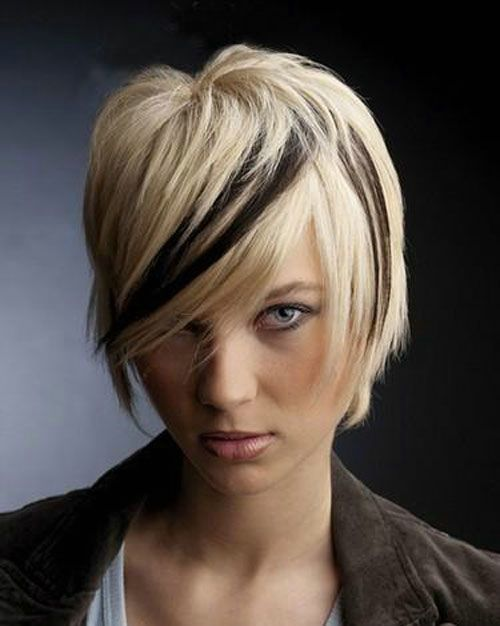 Cool 1000 Images About Funky Hairstyles On Pinterest Blonde Short Hairstyles Gunalazisus