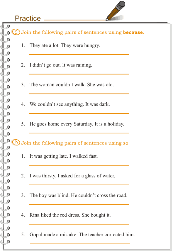 Grade 3 Grammar Lesson 15 Conjunctions 4 Ronans Study