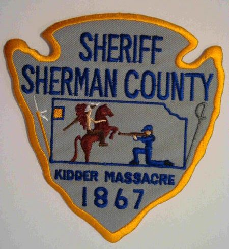 Sherman County Sheriff Ks Police Patches Police Badge Platte County