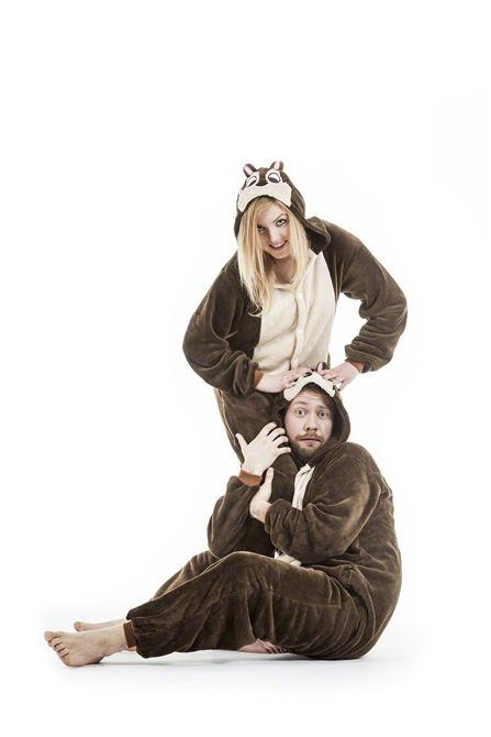 Piżama Cheap & Dale WIEWIÓRKA KIGURUMI L/XL (4977838013) - Allegro.pl - Więcej niż aukcje.