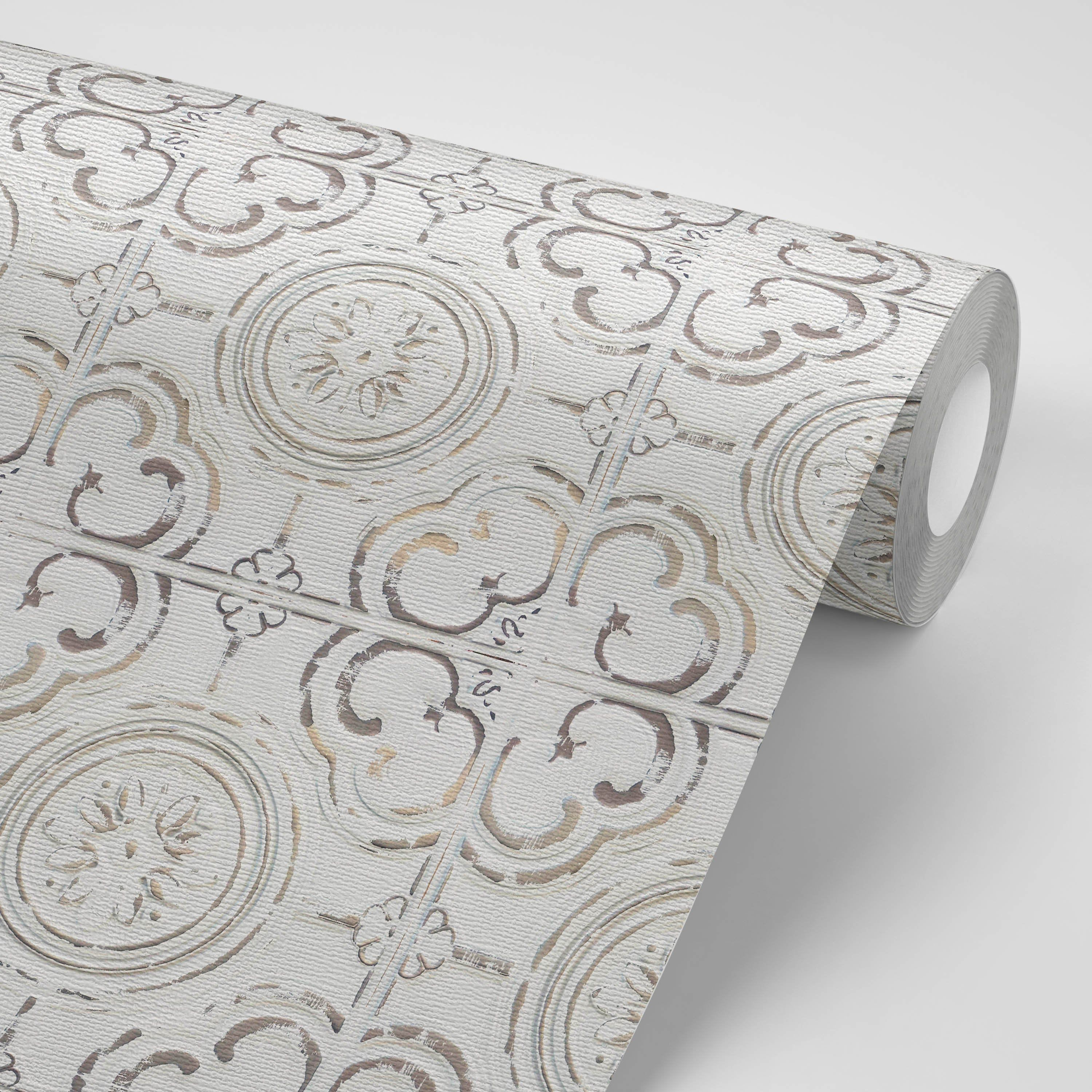 Faux Ceiling Tile Removeable Wallpaper Peel And Stick Wallpaper Sticker Removable Repositionable Wallpaper Ceiling Wallpaper Stickers Peel And Stick Wallpaper