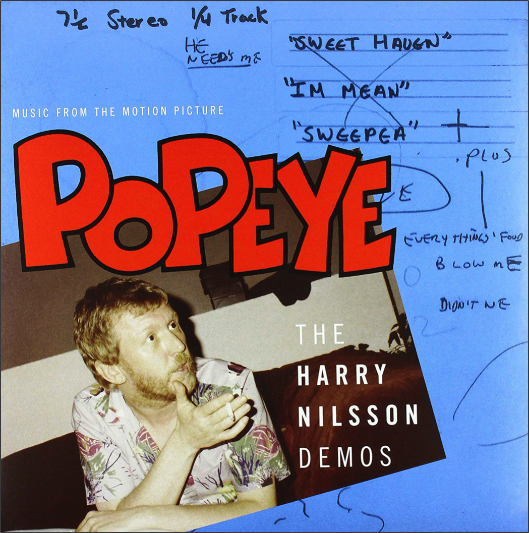 Popeye (Nilsson Demos) (Official Release) in 2020 Harry