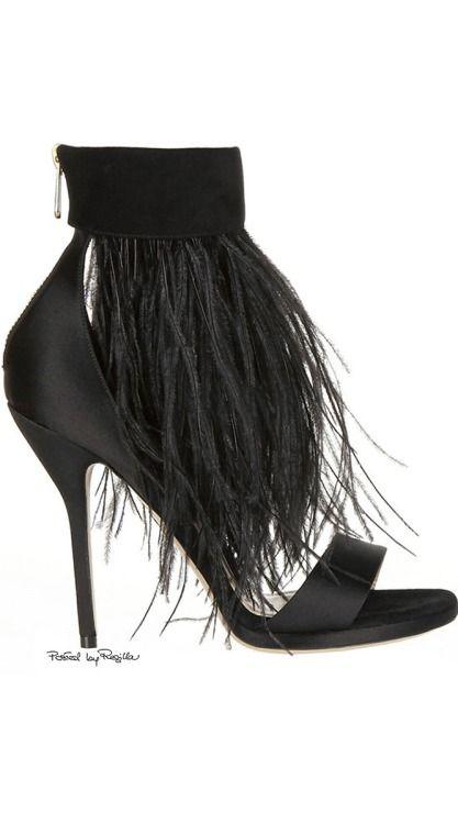Shoes I desire for evening / karen cox.  Regilla ⚜ Paul Andrew #shoes #omg #heels #beautyinthebag