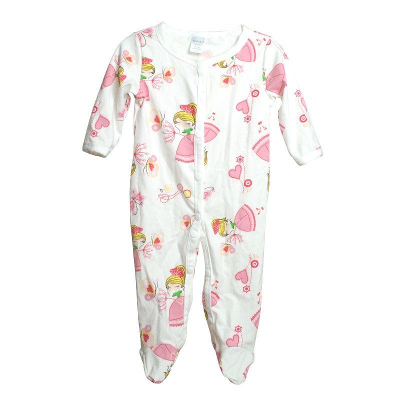 eed095ea4f48 Princess Newborn Baby Cotton Romper newborn baby girl clothes