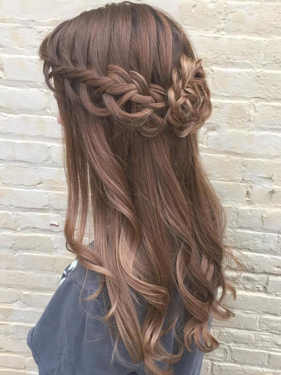 50 Half Updos For Your Perfect Everyday And Party Looks Hair Styles Long Hair Styles Cool Braid Hairstyles