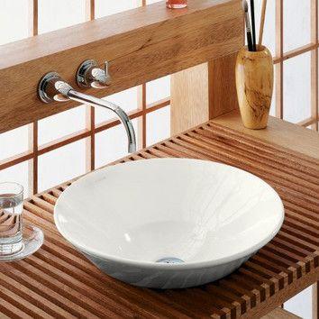 Kohler Conical Bell Vessel Sink  Para Mi Casa  Pinterest Simple Small Bathroom Vessel Sink Inspiration Design