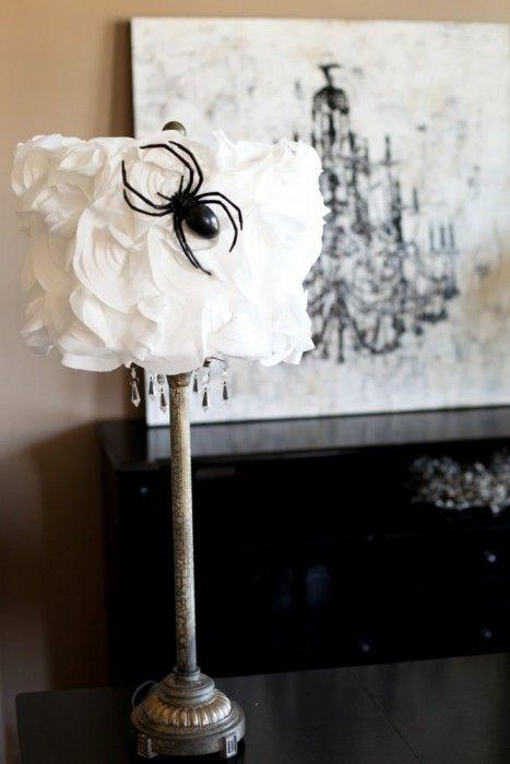 Black and White Halloween Decorating Ideas  DIY Network Feature - halloween decorations ideas diy