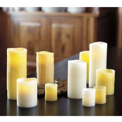 Flameless Candles With Remote Costco Got These At Costco  3 Pack For $20 Or So Put In Lanterns On Front