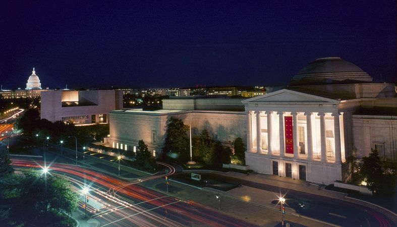 Visiting The National Gallery Of Art In Washington Dc With