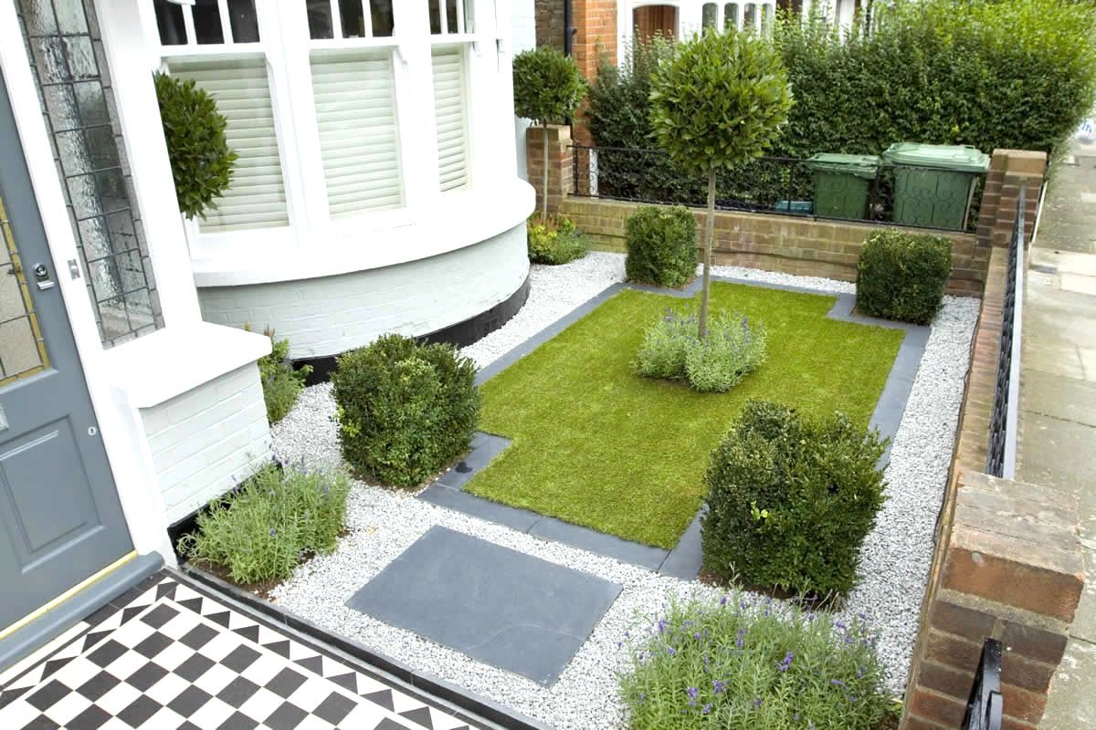 Small Victorian Front Garden Ideas Front Garden Terraced House