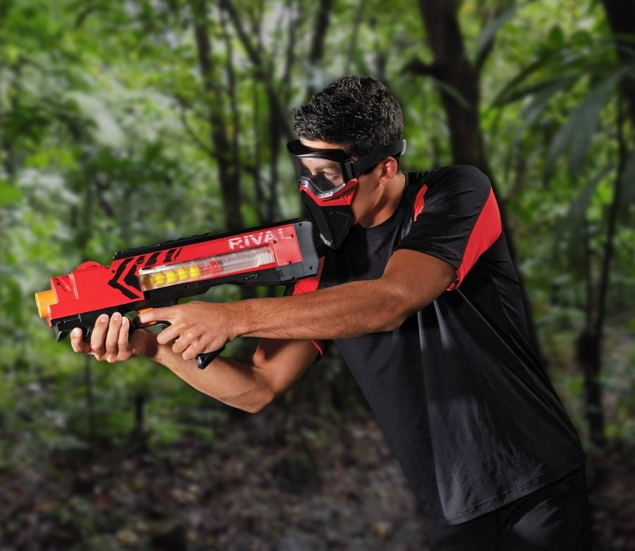 The Nerf Rival Zeus Gun Shoots Balls At 70 MPH