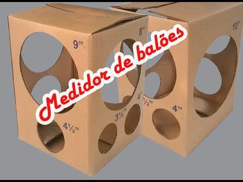 Medidor de baloes para imprimir