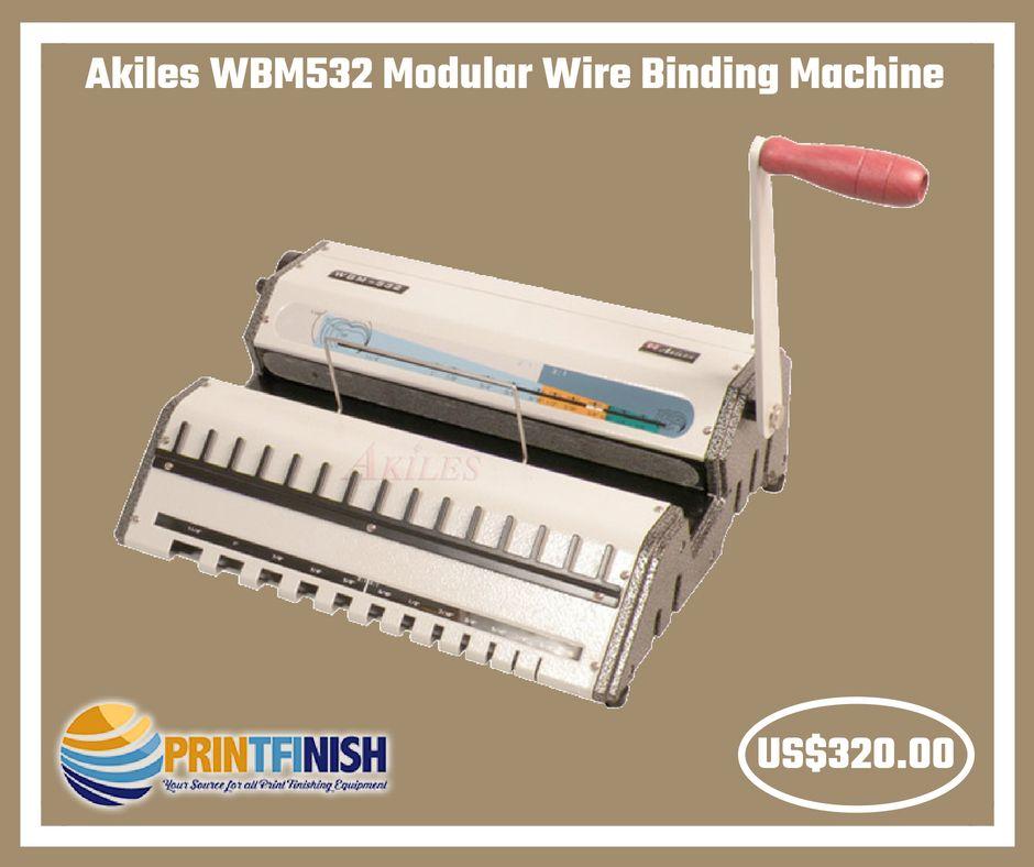 Akiles WBM532 Modular Wire Binding Machine