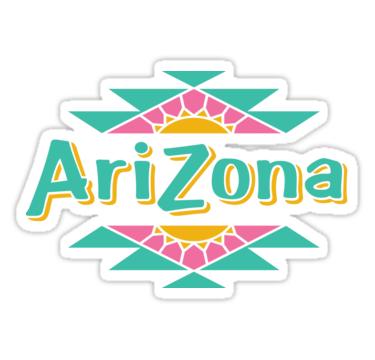 Arizona Tea Sticker By Asaltypickle Bubble Stickers Aesthetic Stickers Red Bubble Stickers