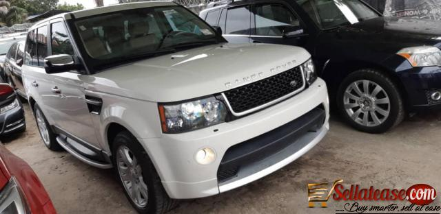 A very neat Tokunbo 2007 Land Rover Range Rover
