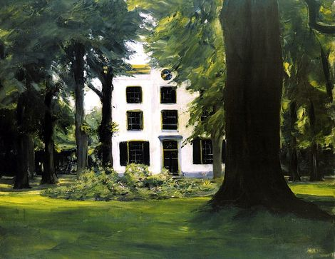 Max Liebermann, Country House in Hilversum on ArtStack #max-liebermann #art
