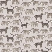Gray Tigers by siankeegan