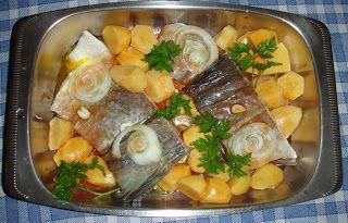 Bacalhau Assado no Forno com Batata