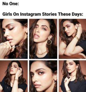 Indian Girls On Instagram Nowadays