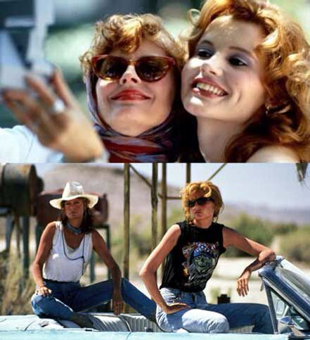#Thelma&Louise #selfie I appreciate those kind of selfies!