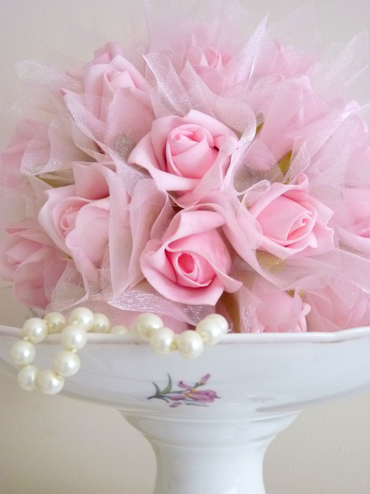 """A Romantic Day """"rose ball"""" decoration"""