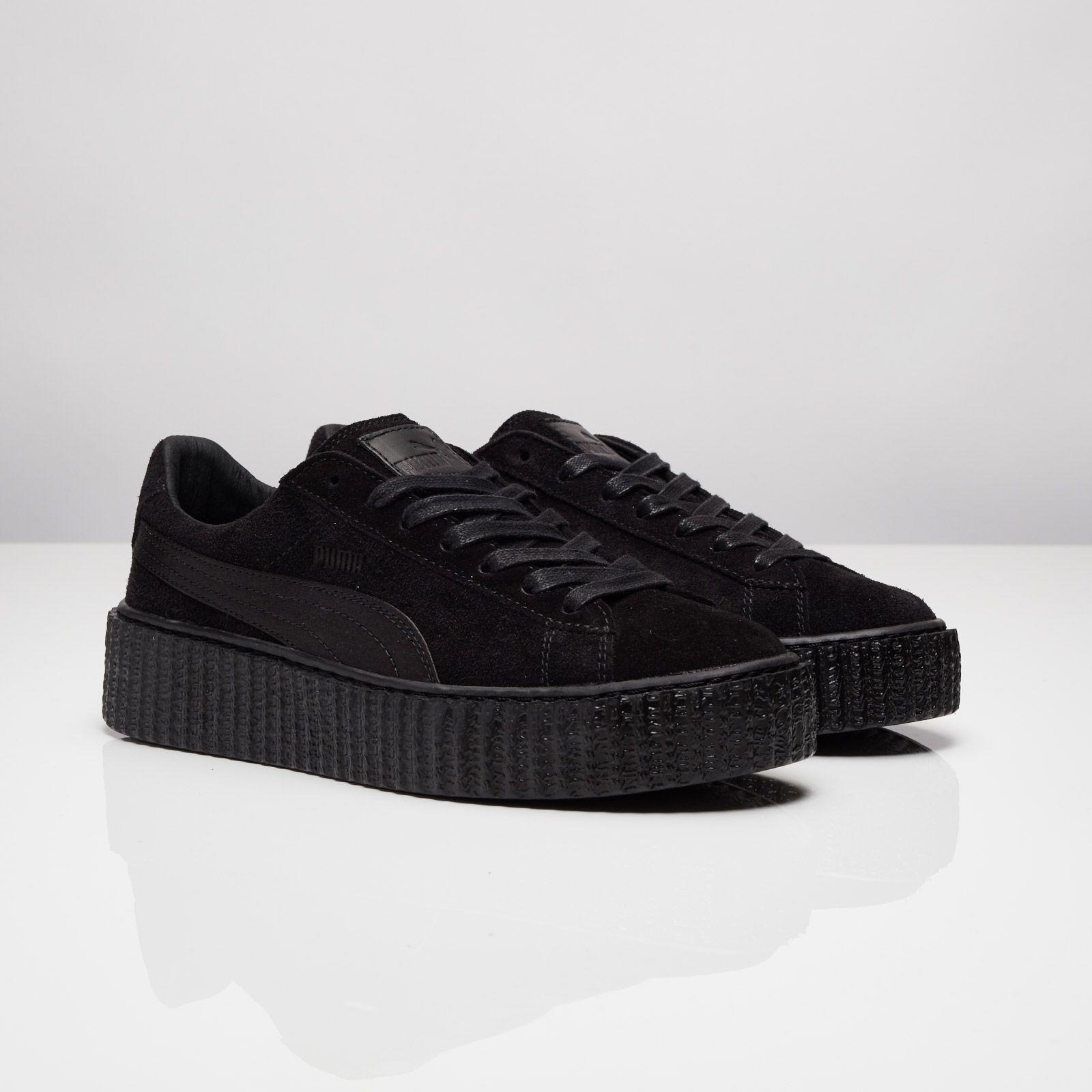 PUMA Suede Creepers Satin Rihanna | SHOES | Sneakers, Idées