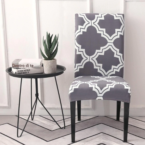 Multi-color Spandex Chair Cover images
