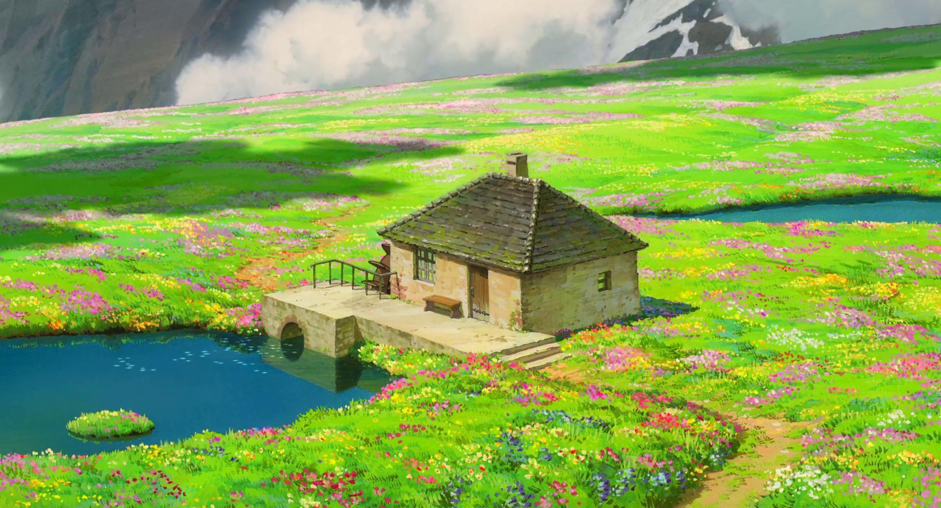 ハウルの動く城 高画質なおしゃれ画像 壁紙まとめ アニメの風景 ハウルの動く城 風景