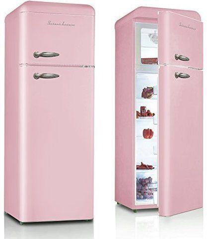 Retro Kühlschrank in rosa - Schaub Lorenz SL 210 SP | Coole ...