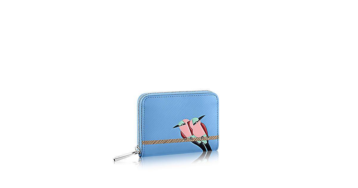 91ebb750 Louis Vuitton Zippy Coin Purse: The tropical bird that adorns the ...