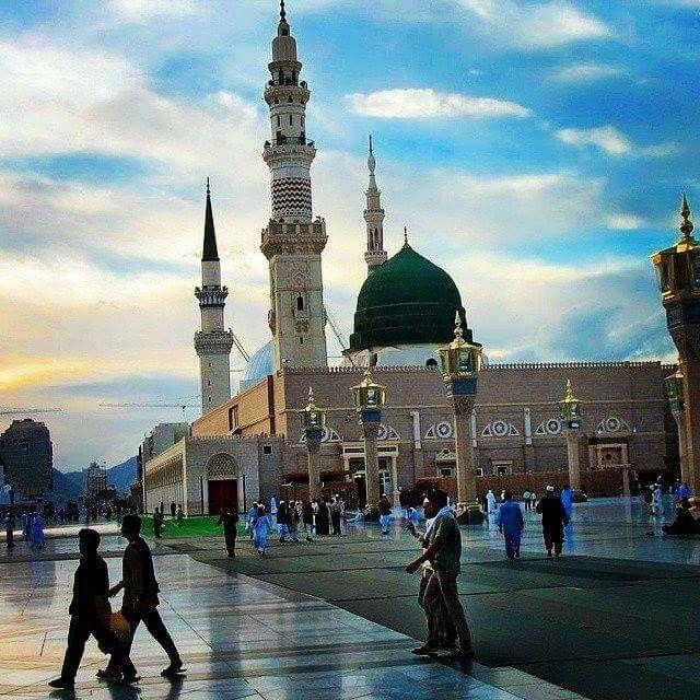 Haram E Rasool S W A Ksa Mosque Medina Mosque Islamic Architecture