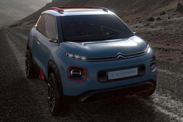 Le C-Aircross Concept est une véritable surprise de la marque Citroën, qui surf sur la nouvelle vague des SUV