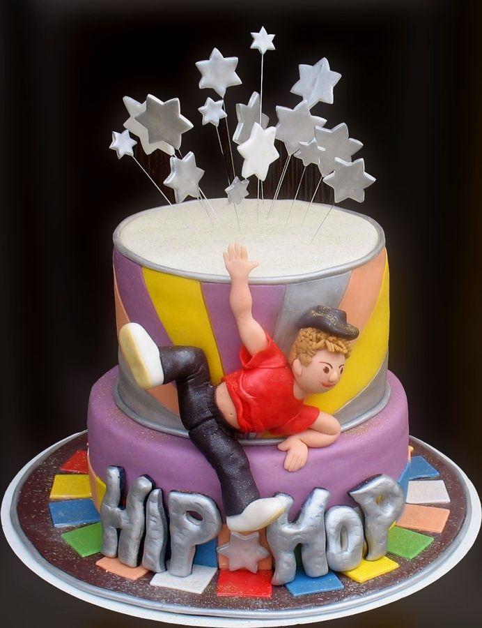 Brilliant Hip Hop Cake Cakes Dance Cakes Birthday Cake 12Th Birthday Cake Funny Birthday Cards Online Inifodamsfinfo