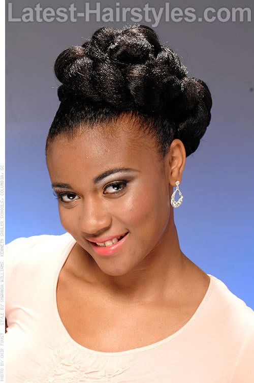 Stupendous 1000 Images About Prom Hairstyles On Pinterest Naturally Curly Short Hairstyles For Black Women Fulllsitofus