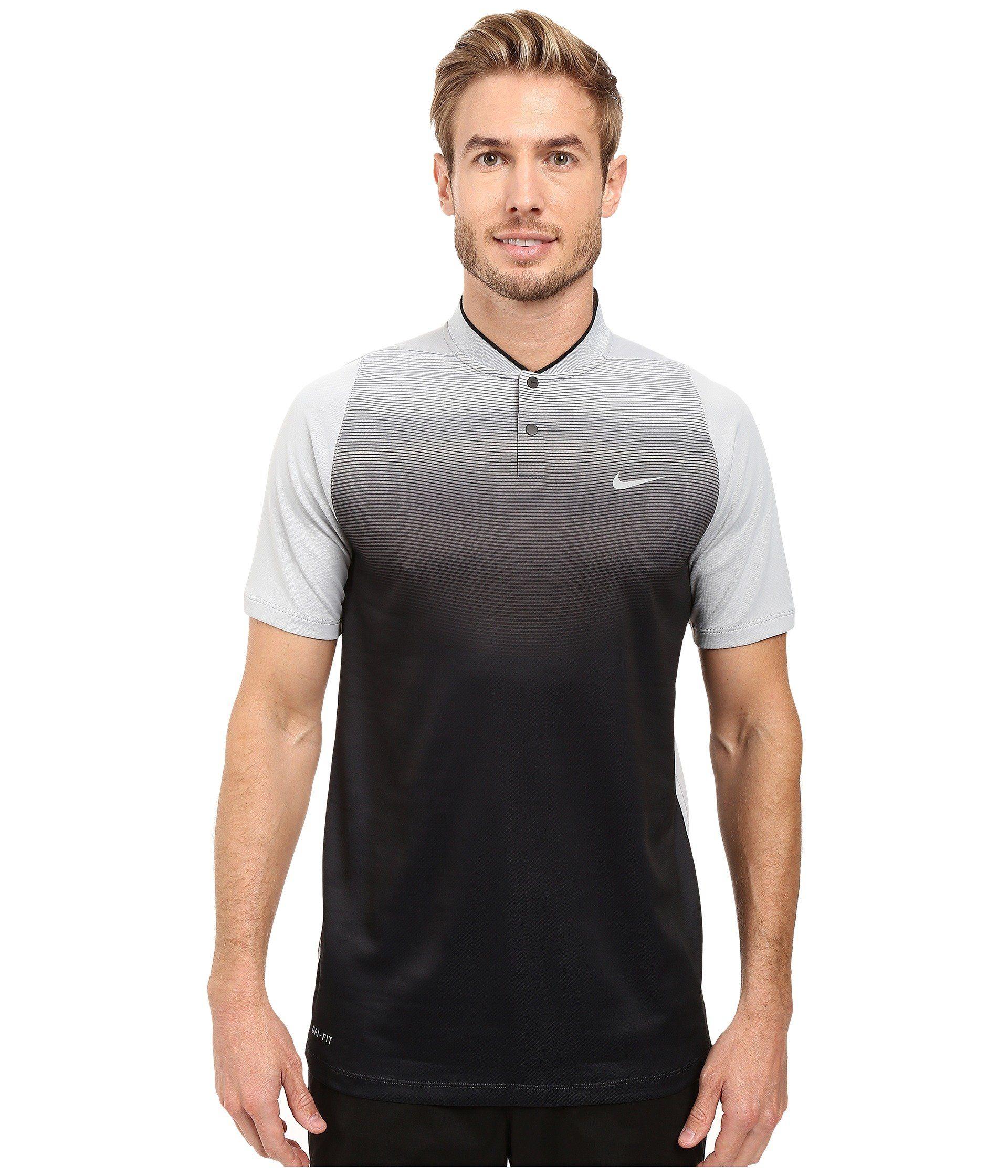 NIKE Tiger Woods Vl Max Sphere Print Polo. #nike #cloth #