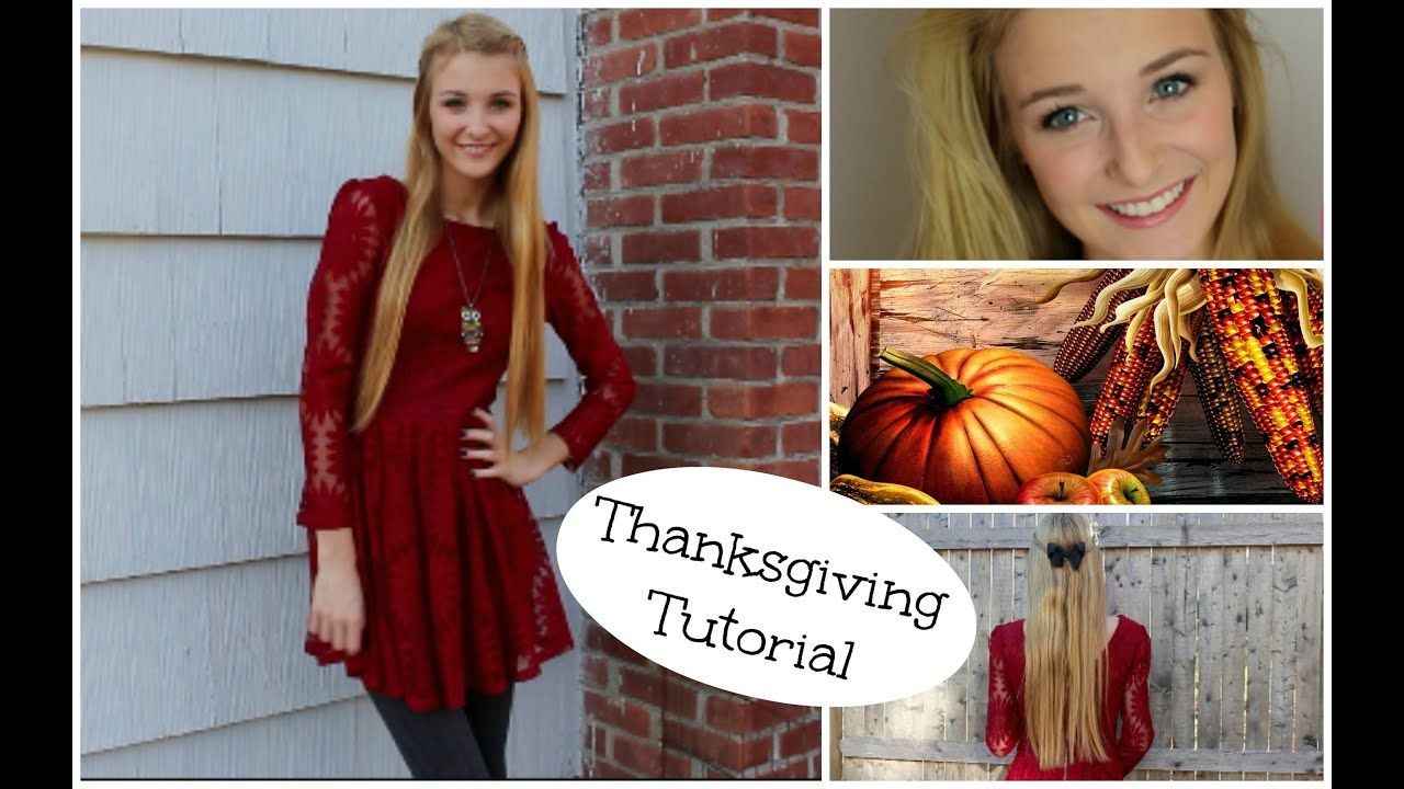 Cute N Classy Thanksgiving Makeup Hair Outfit Youtube Thanksgiving Cute Outfit Makeup Hair Cl In 2020 Thanksgiving Makeup Lollapalooza Outfit Classy Outfits