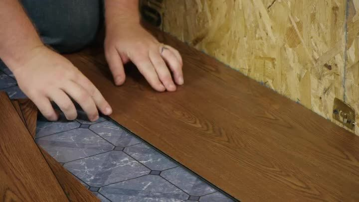 Installing New Flooring Over Linoleum Is A Lot Easier If You Use The