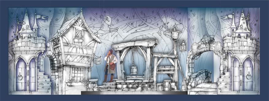 designs :: beauty & the beast set design package | bg/character
