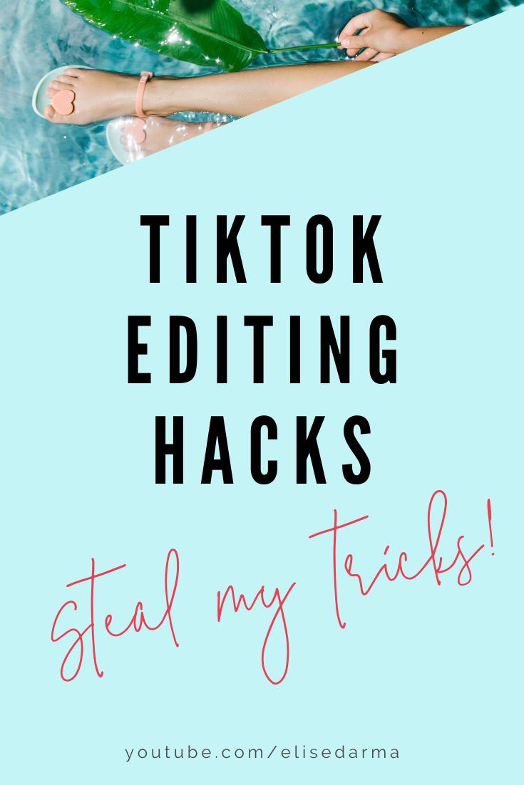 Tiktok Editing Hacks Business Boost Blog Ideas Marketing Business Blog