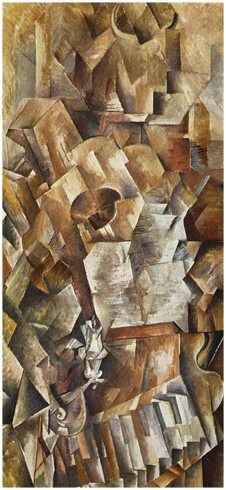 Violin and Palette - Georges Braque - WikiArt.org ...