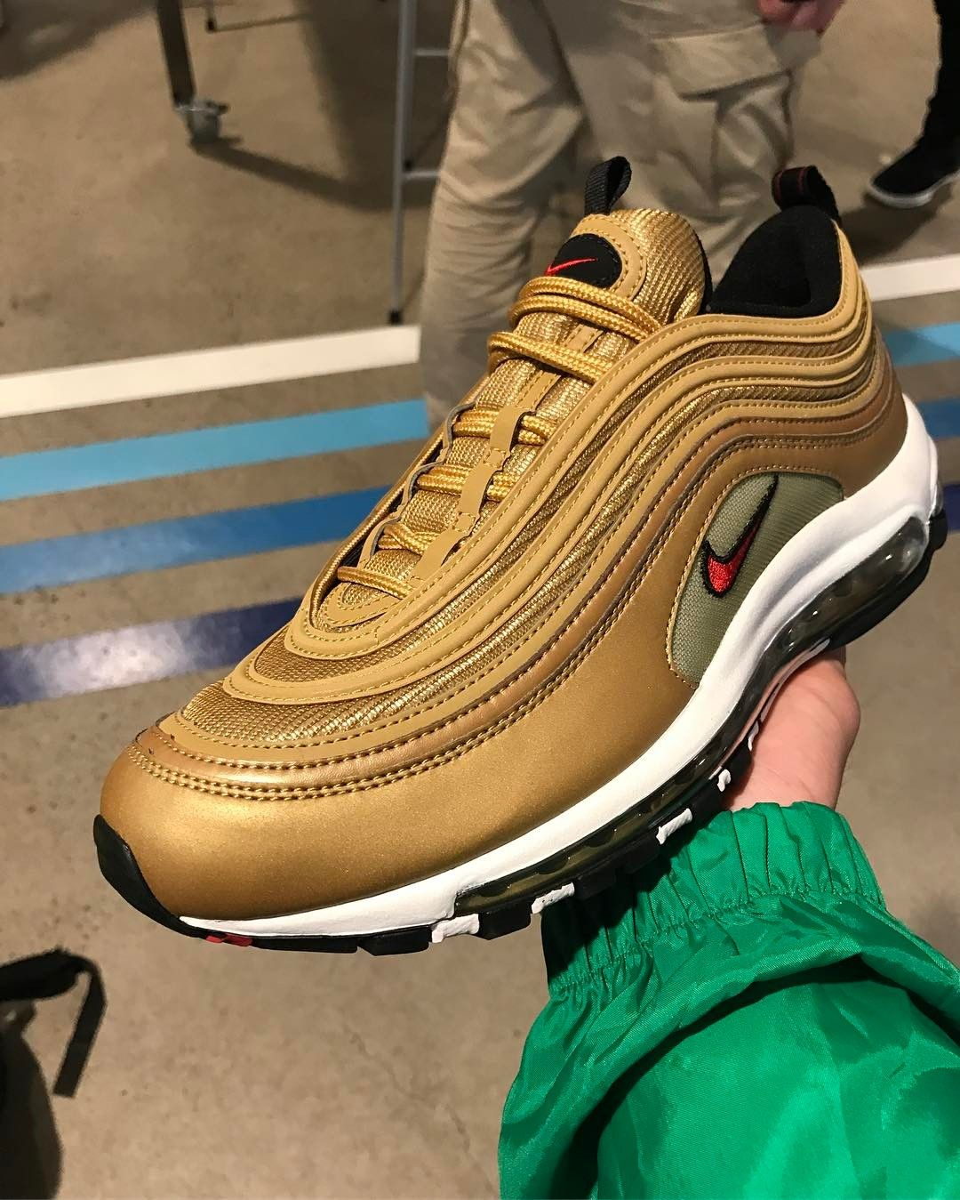online store 0cb5a ccd51 Nike Air Max 97 Gold