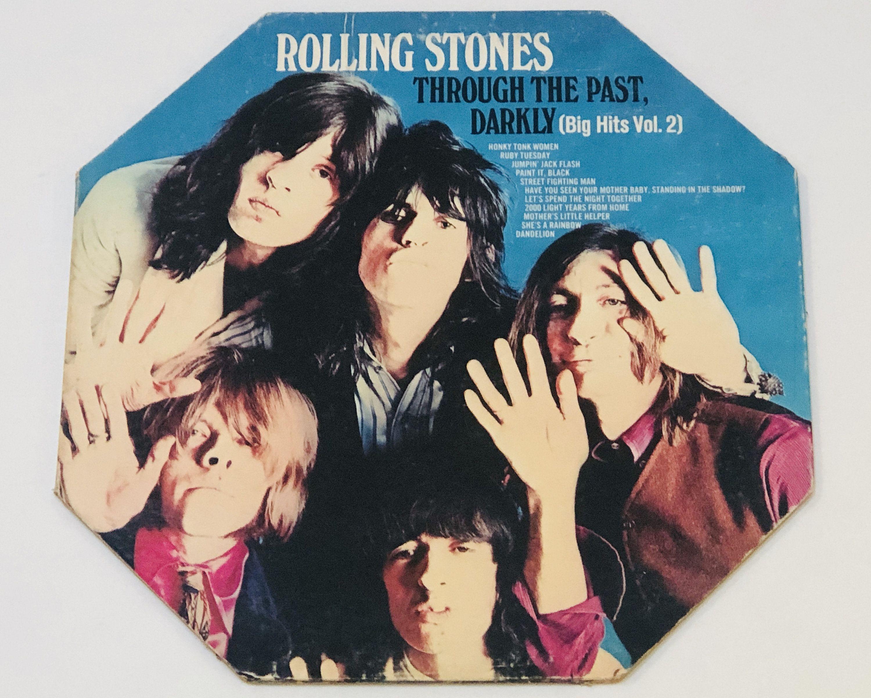 Rolling Stones Throught The Past Darkly Big Hits Vol 2 Etsy In 2020 Rolling Stones Album Cover Art Rolling Stones Vinyl